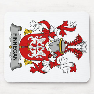Finnegan Family Crest Mouse Pad