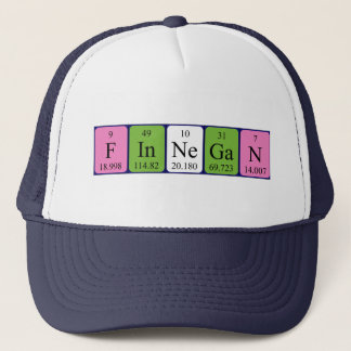 Finnegan periodic table name hat