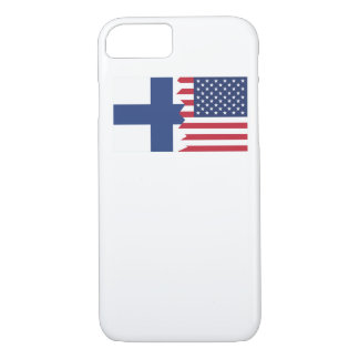 Finnish American Flag iPhone 7 Case
