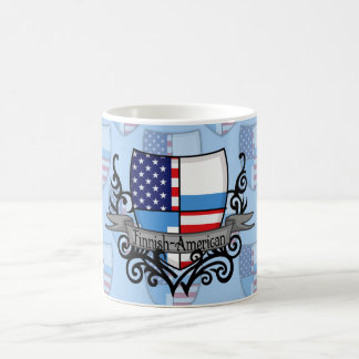 Finnish-American Shield Flag Coffee Mug