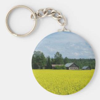 Finnish Countryside key chain