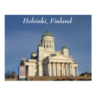 Finnish Evangelical Lutheran cathedral Postcard
