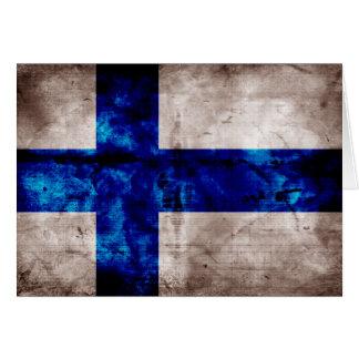 Finnish Flag Card