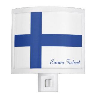 Finnish Flag custom night light