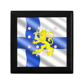 Finnish flag gift box