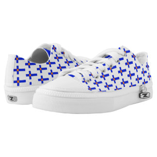 Finnish flag Low-Top sneakers
