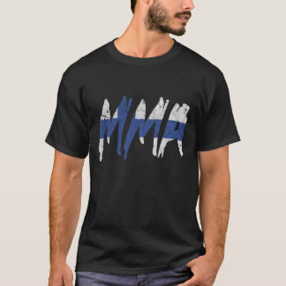 Finnish Flag MMA T-Shirt