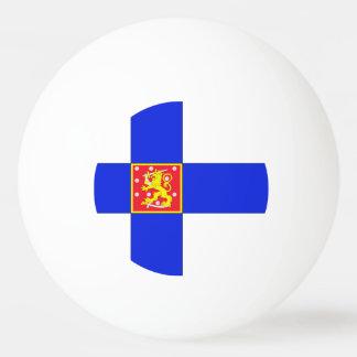 Finnish flag ping pong ball