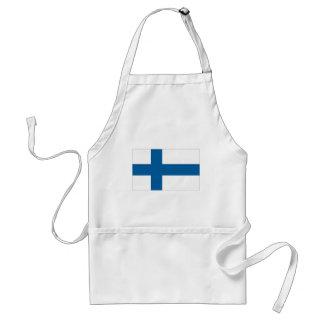 Finnish Flag Standard Apron