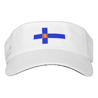 Finnish flag visor