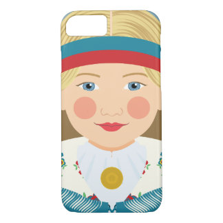 Finnish Girl Matryoshka Case
