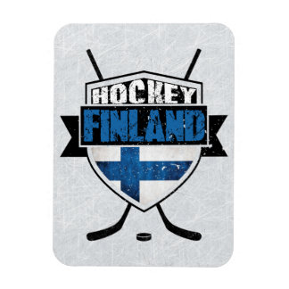 Finnish Hockey Shield Suomi Magnet