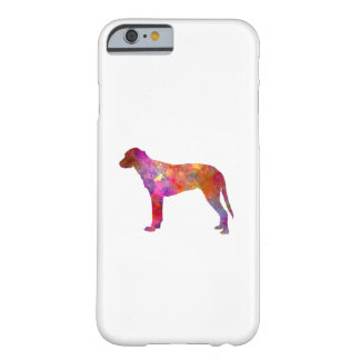 Finnish Hound in watercolor Barely There iPhone 6 Case