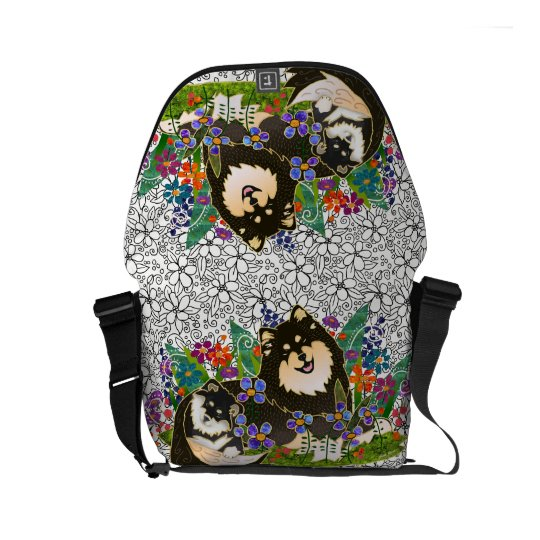 Finnish Lapphund  bag choose size and colours Commuter Bag