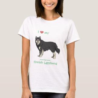 Finnish Lapphund black and white shirt -