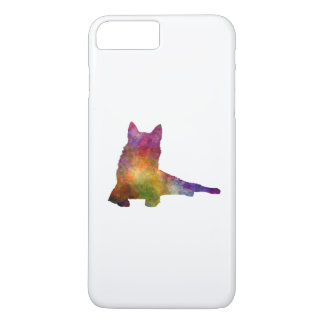 Finnish Spitz 01 in watercolor iPhone 7 Plus Case