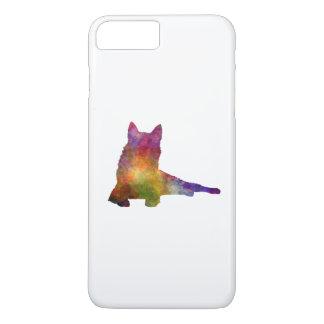 Finnish Spitz 01 in watercolor iPhone 8 Plus/7 Plus Case