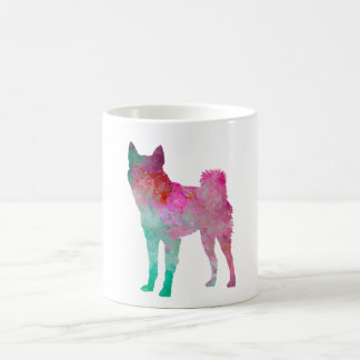 Finnish Spitz 02 in watercolor Coffee Mug