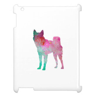 Finnish Spitz 02 in watercolor Cover For The iPad 2 3 4
