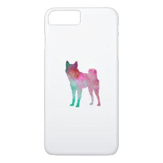 Finnish Spitz 02 in watercolor iPhone 8 Plus/7 Plus Case
