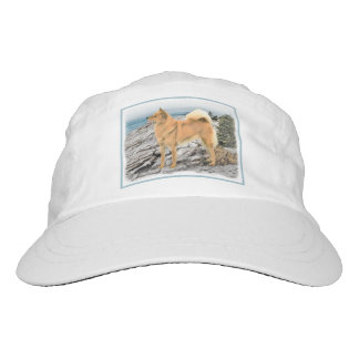 Finnish Spitz at the Seashore Hat