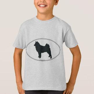 Finnish Spitz Silhouette T-Shirt