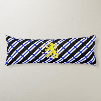 Finnish stripes flag body pillow