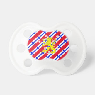 Finnish stripes flag pacifier
