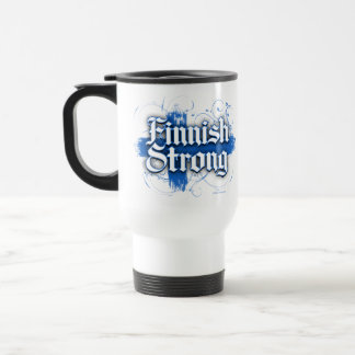 Finnish Strong (Finland) Travel Mug