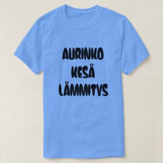 Finnish Word for sun summer heat T-Shirt
