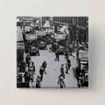 Finsbury Park Station, c.1923 2 Inch Square Button