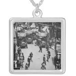 Finsbury Park Station, c.1923 Silver Plated Necklace