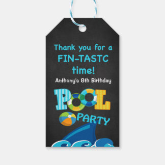 Fintastic Time... Shark Thank You  Gift Tags Pack Of Gift Tags