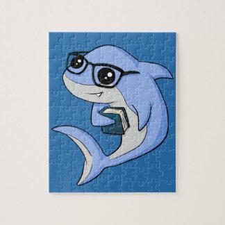 """""""Fintellectual"""" Shark! Jigsaw Puzzle"""
