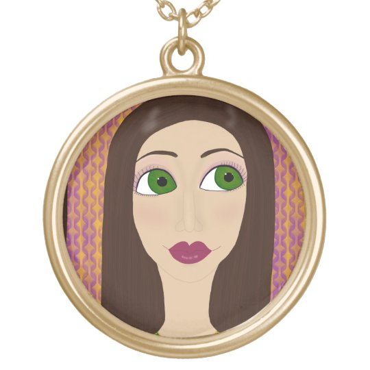 Fiona Gold Plated Necklace