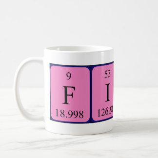 Fiona periodic table name mug
