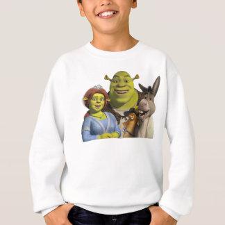 Fiona, Shrek, Puss In Boots, And Donkey Sweatshirt