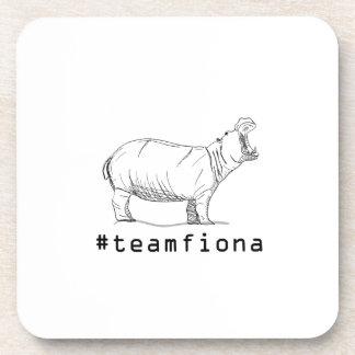 Fiona The Baby Hippo #teamfiona Hippopotamus Coaster