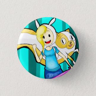 fionna cake 1 inch round button