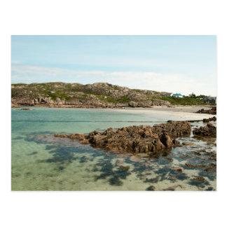 Fionnphort Beach Postcard