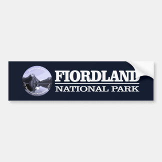 Fiordland National Park Bumper Sticker