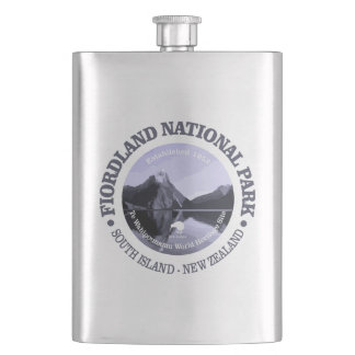 Fiordland National Park Hip Flask