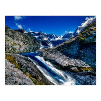 Fiordland National Park, New Zealand Postcard