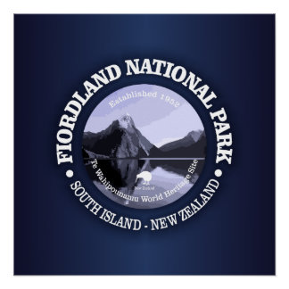 Fiordland National Park Poster