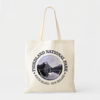 Fiordland National Park Tote Bag