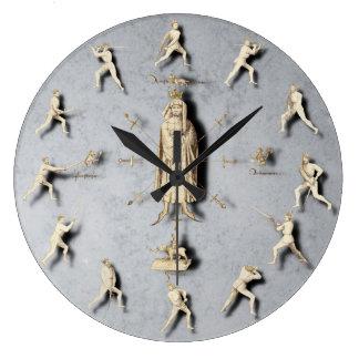 Fiore dei Liberi Wall Clock