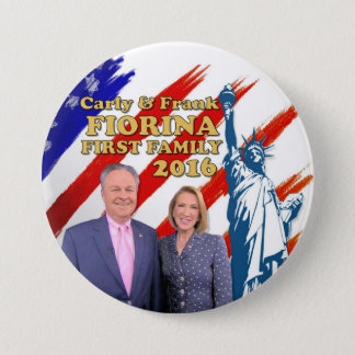 Fiorina First Family 2016 3 Inch Round Button