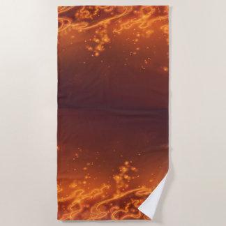 Fir Bug Beach Towel