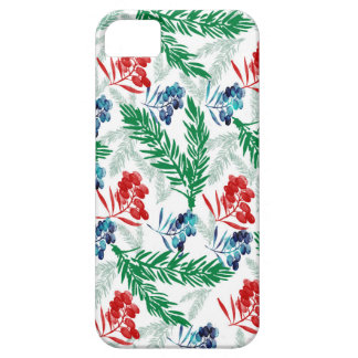 Fir Tree Branches with Berries iPhone 5 Cases