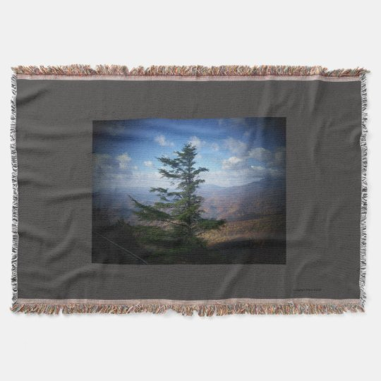 Fir tree throw